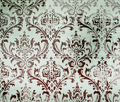 Damask Party Supplies & Scroll Decorations