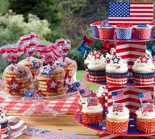 American Independence Day Baking Accessories & 4th July Baking Accessories