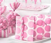 Pink Ribbon Bags & Pink Ribbon Boxes