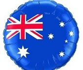 Australia Day Balloons