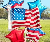 4th July Balloons & American Independence Day Balloons
