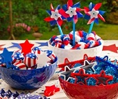 4th July American Independence Day Confectionery, Lollies & Candy