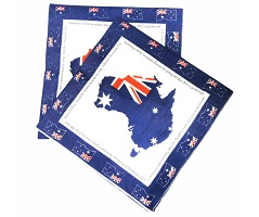 Australia Day Tableware