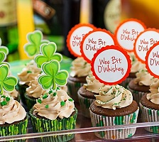 St Patrick's Day Baking Ingredients