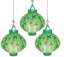 St Patrick's Day Lighting