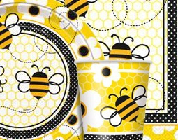 Bumble Bees Party Supplies & Bumble Bees Decorations