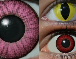 Contact Lenses - Fancy Dress Costume Accessories Costumes