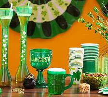 St Patrick's Day Tableware