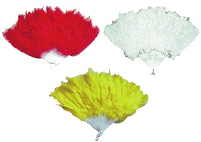 Hand Fans - Fancy Dress Costume Accessories Costumes