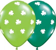 St Patrick's Day Balloons