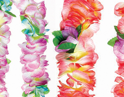 Floral Leis & Plastic Leis - Fancy Dress Costume Accessories Costumes