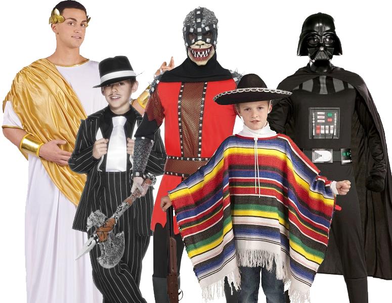Male Men & Boys Fancy Dress Costumes