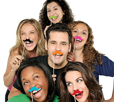 Movember Party Favors