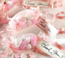 Pink Ribbon Party Favors