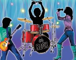 Rock Party Supplies & Rock Decorations