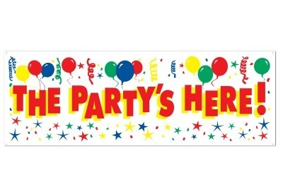 Party Banners & Signs Party Supplies