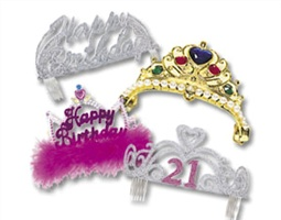 Tiaras & Crowns Party Supplies