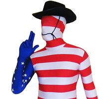 American Independence Day Costumes & 4th July Costumes