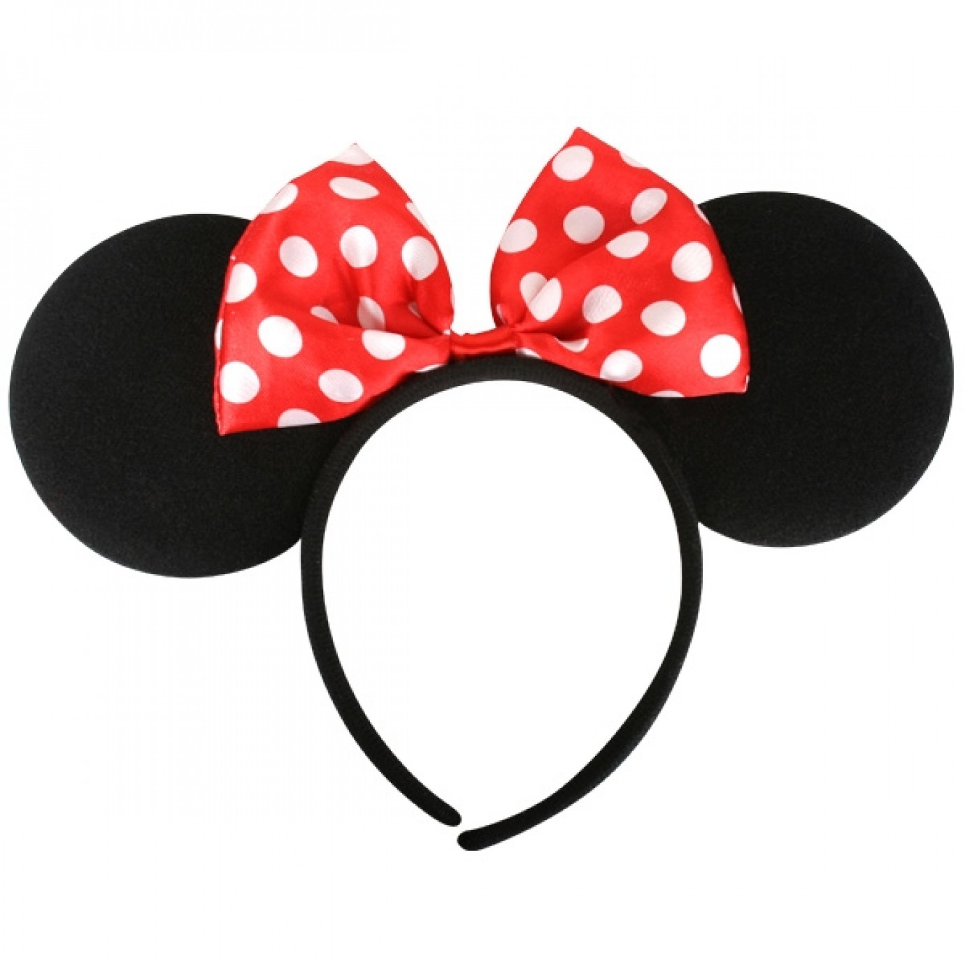 Minnie Mouse Ears, Red Bow | Disney | Fancy Dress Costumes | Party Shop