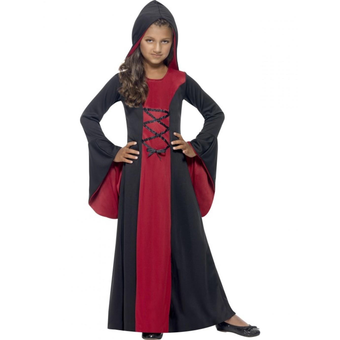 4 People Halloween Costumes Girls.Child Costume Girls Vampire Cape