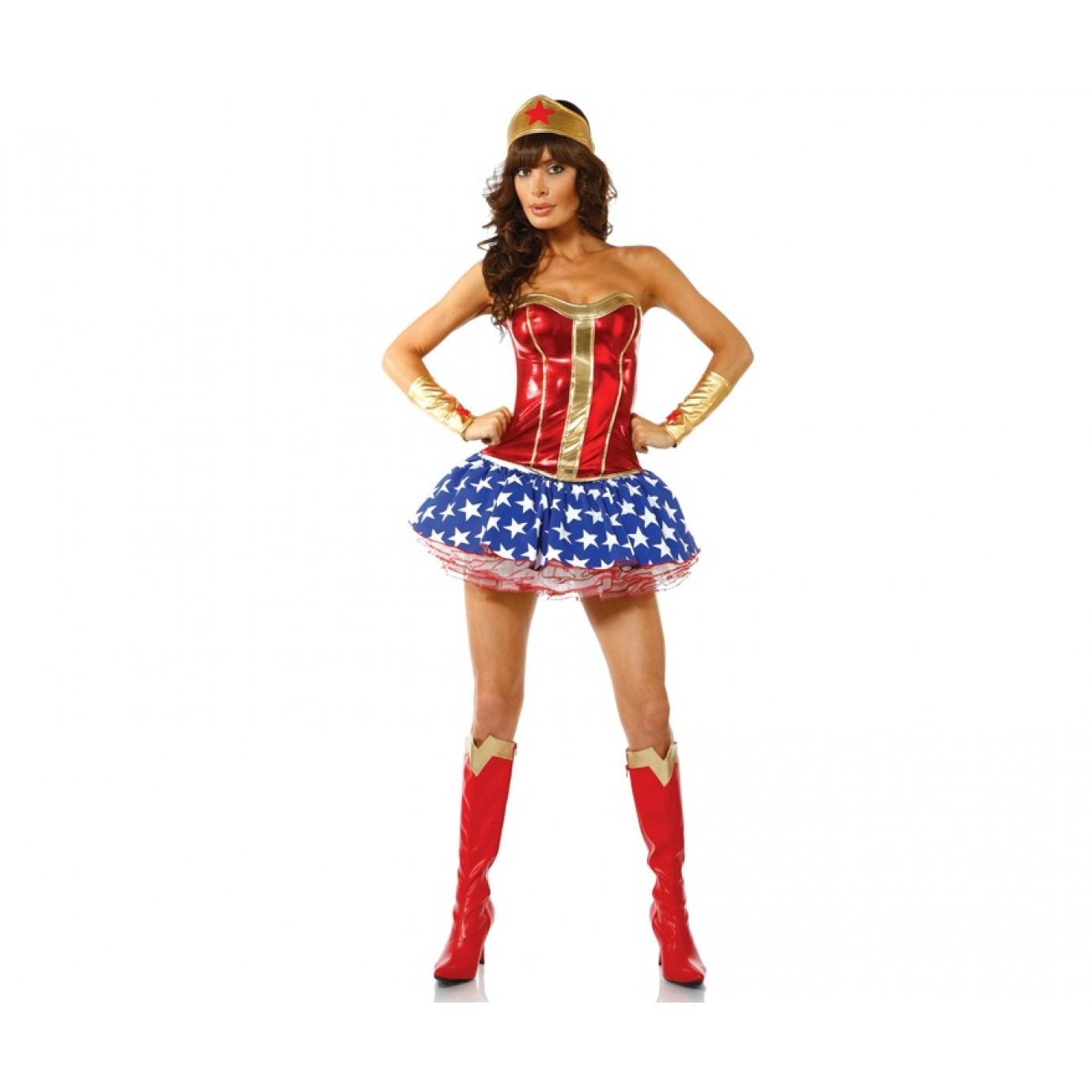 19e13933b Adult Costume - Bam! Wonder Woman