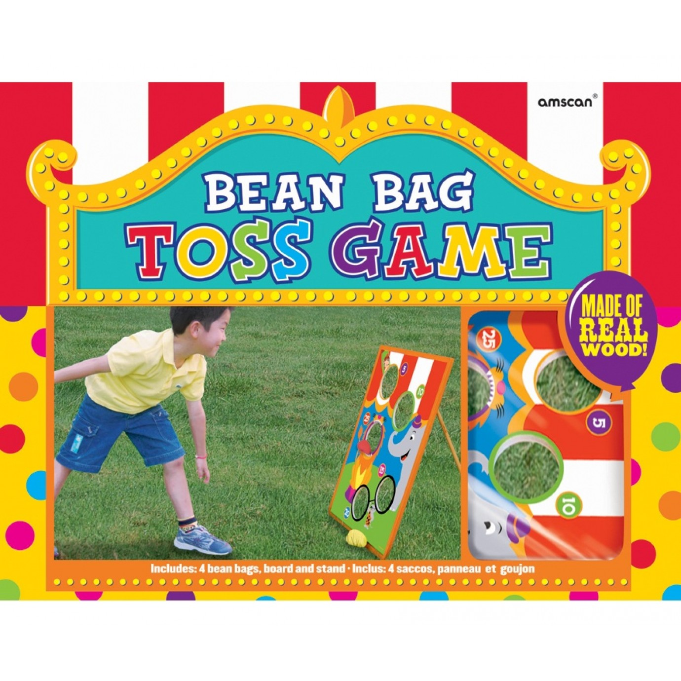 Game Bean Bag Toss Party Favours Party Supplies