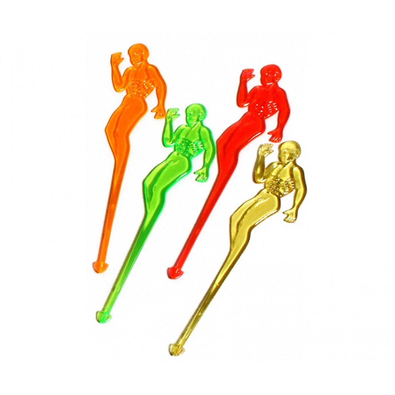 Drink Stirrers Naked Men 10 Pk Catering Supplies