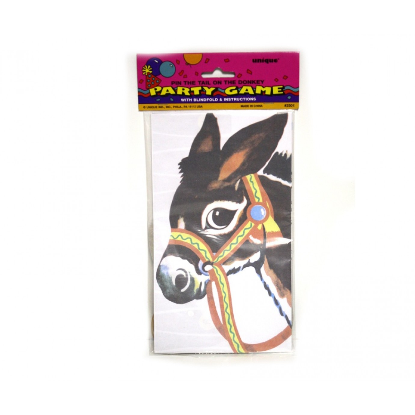 Party Game - Pin the Tail on the Donkey | Party Favours | Party ...