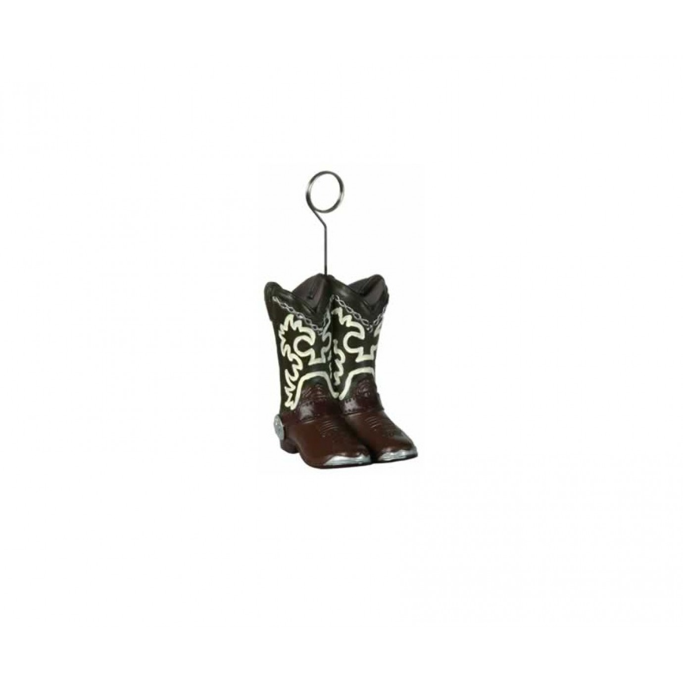480b3eef27e Balloon or Photo Holder, Cowboy Boots