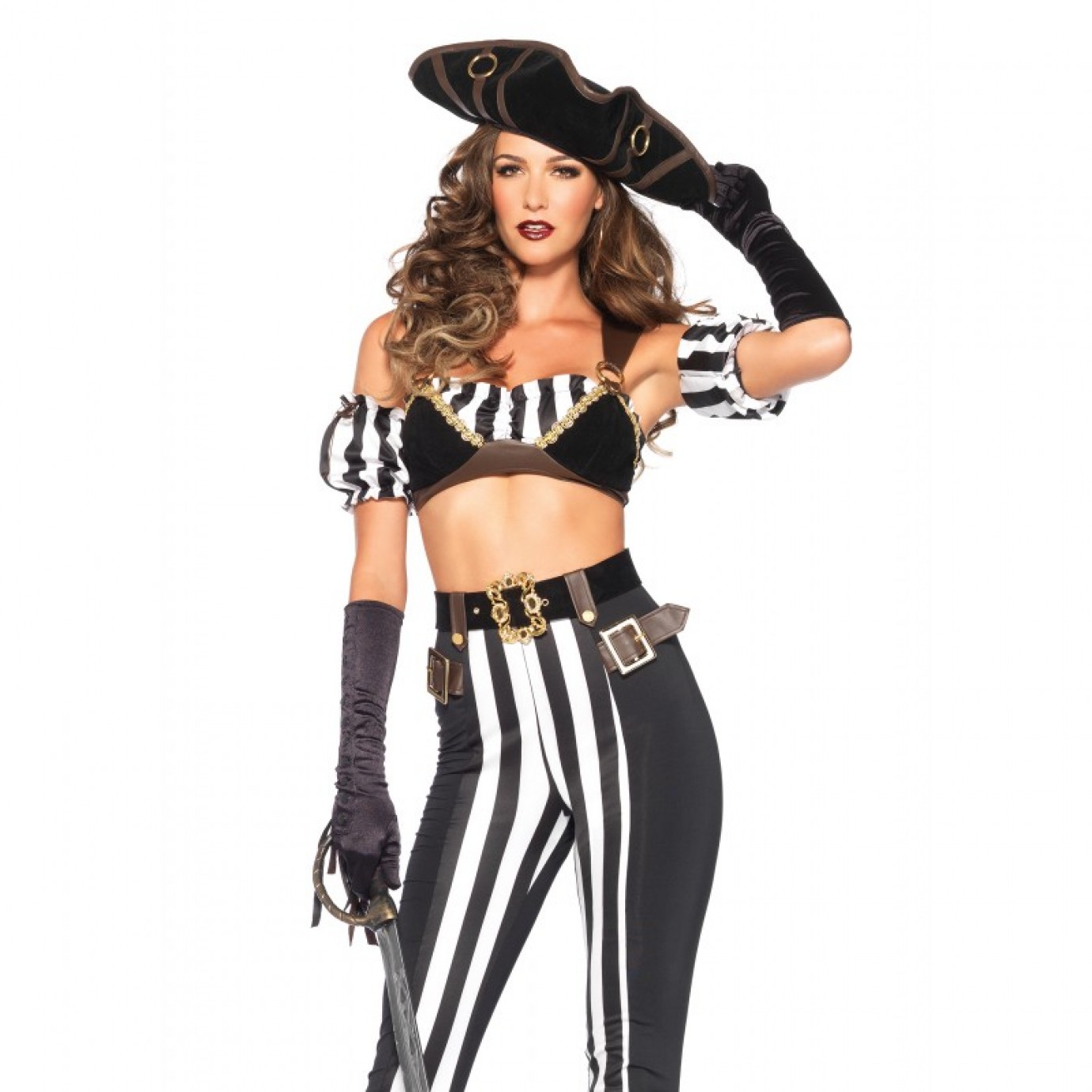 adult costume - black beauty pirate | women's general | female