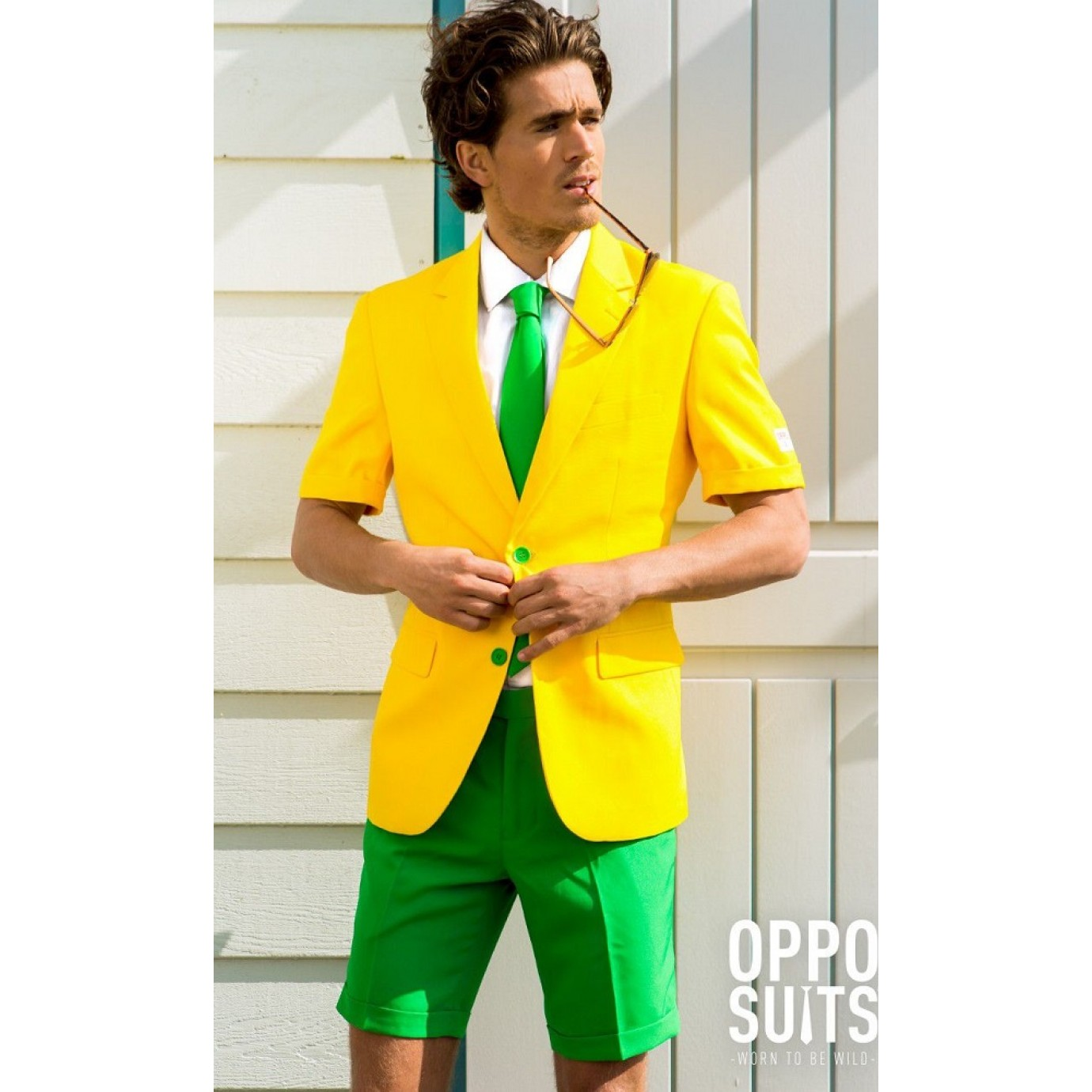 b8ef96e356f781 Adult Costume - Opposuits, Green & Gold Summer | Men's General | Male |  Shop by Size | Costumes | The Party People Shop