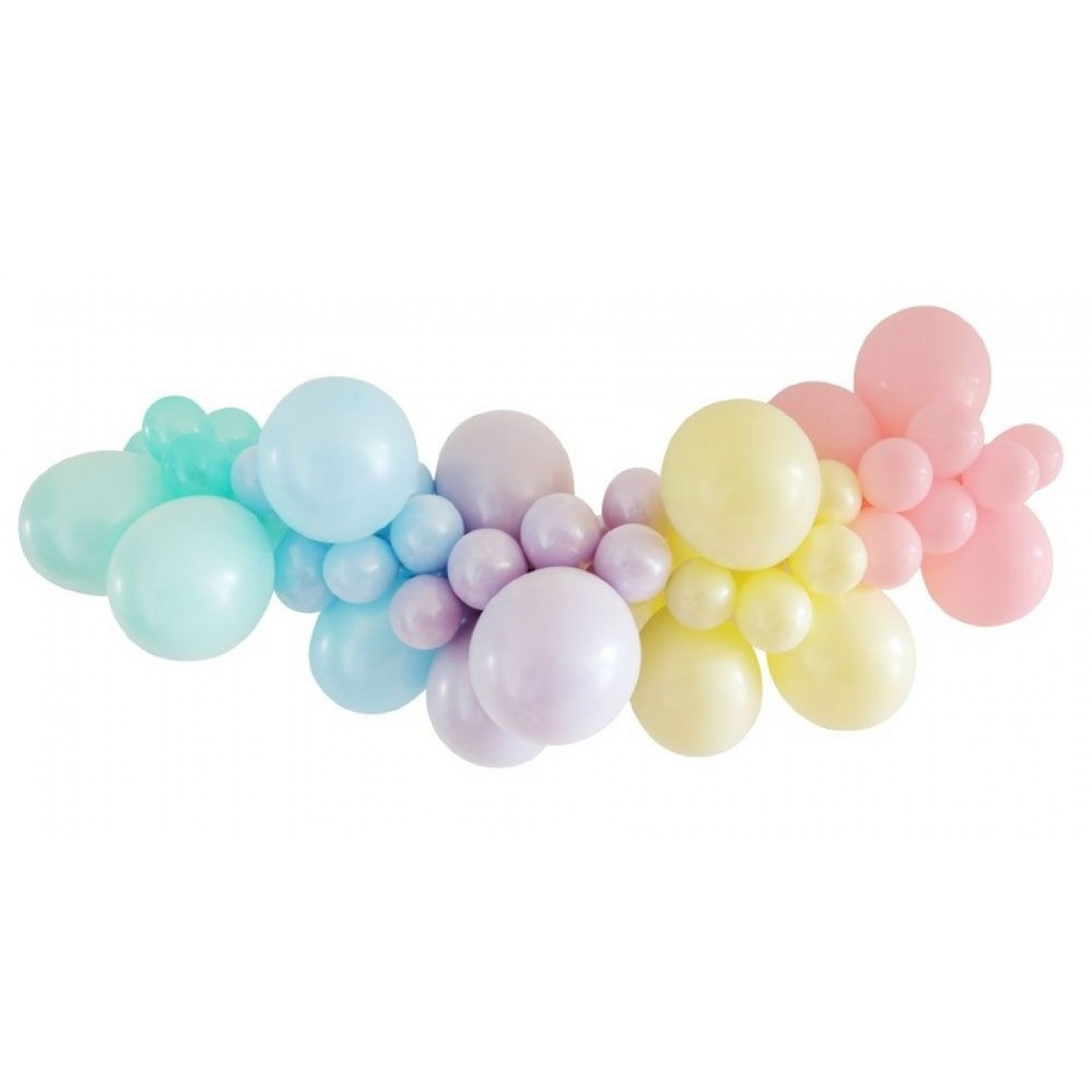 Balloon Garland Kit Pastel Balloon Decore Balloons Decorating Party Supplies The Party People Shop