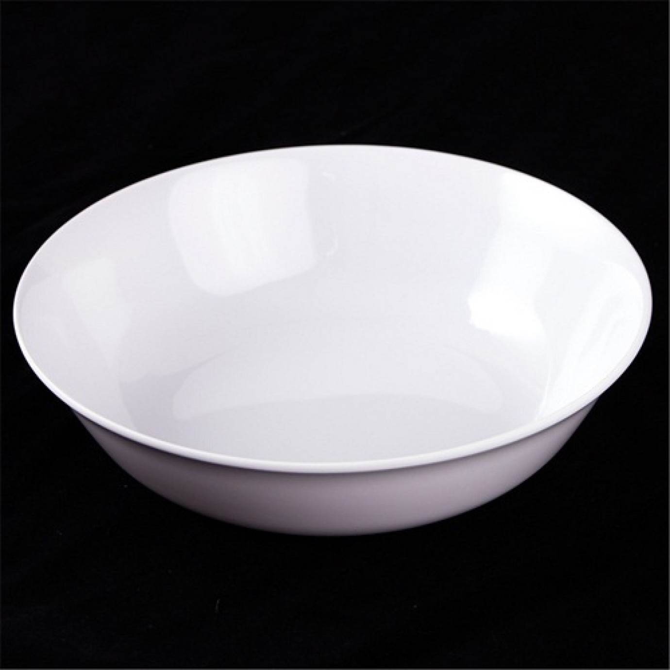 Bowl - Round White, Cereal | Bowls | Tableware | Party ...