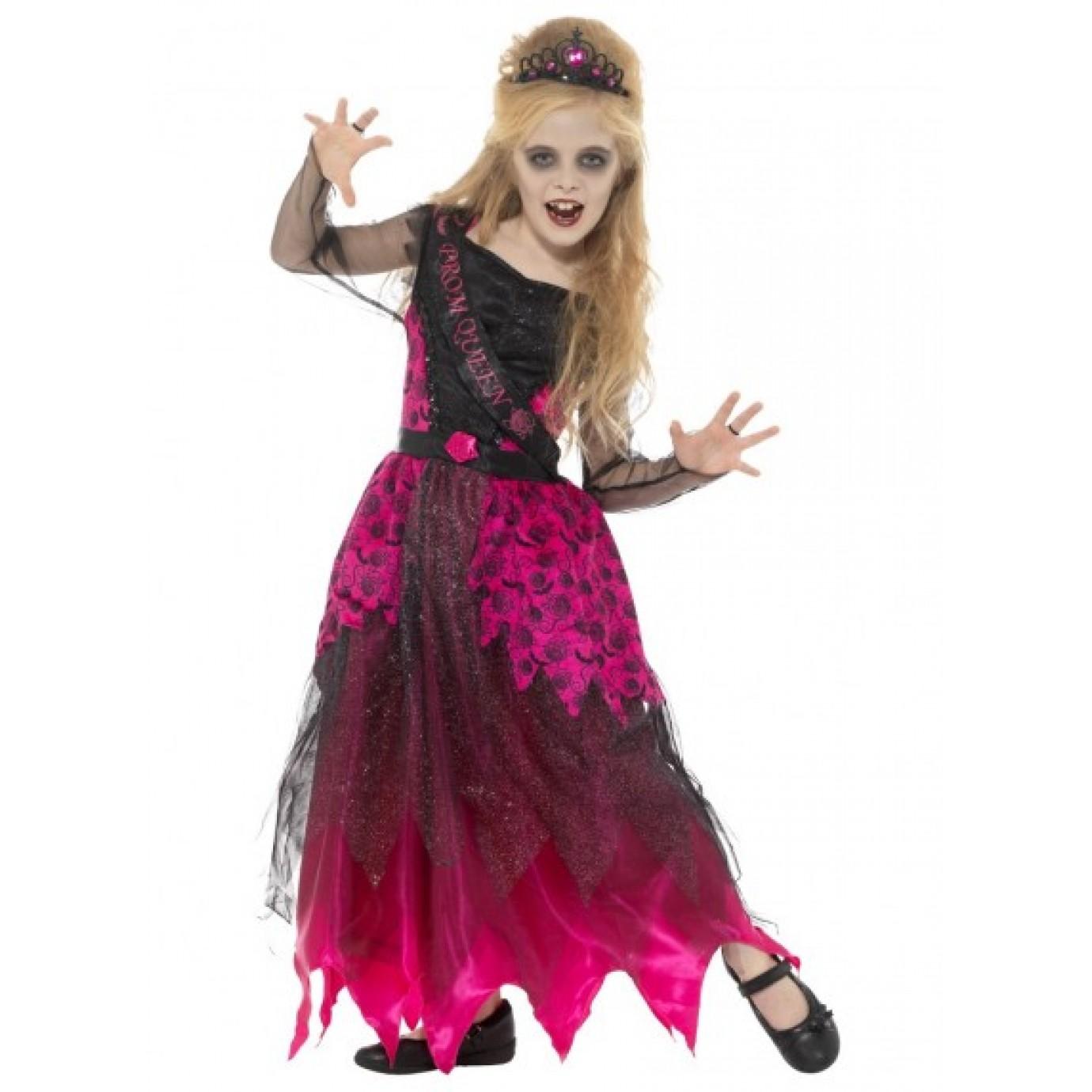 Child Costume , Gothic Prom Queen