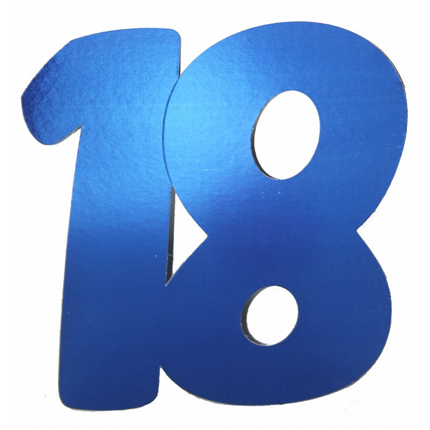 Cutouts birthday numbers 18 blue 3 pk letters numbers patterns shop by theme party supplies the party people shop