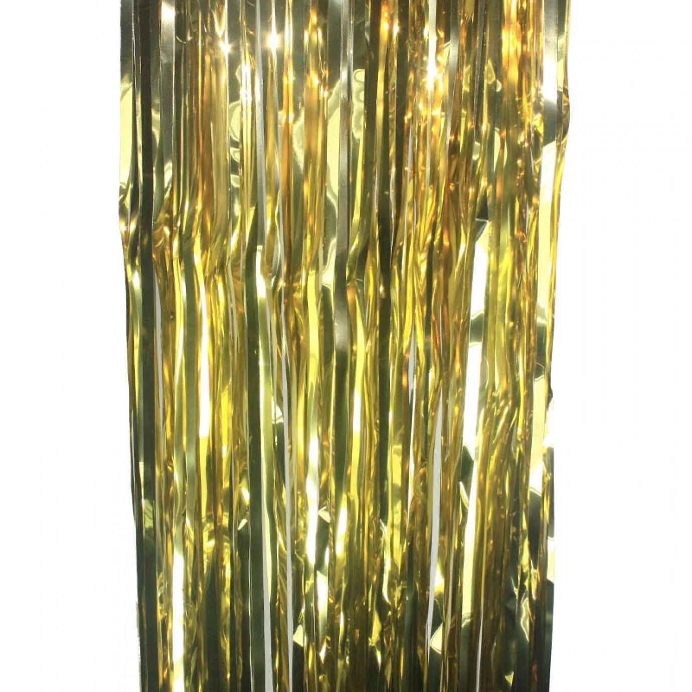 Door Curtain Foil Gold Curtains Hanging Decorations