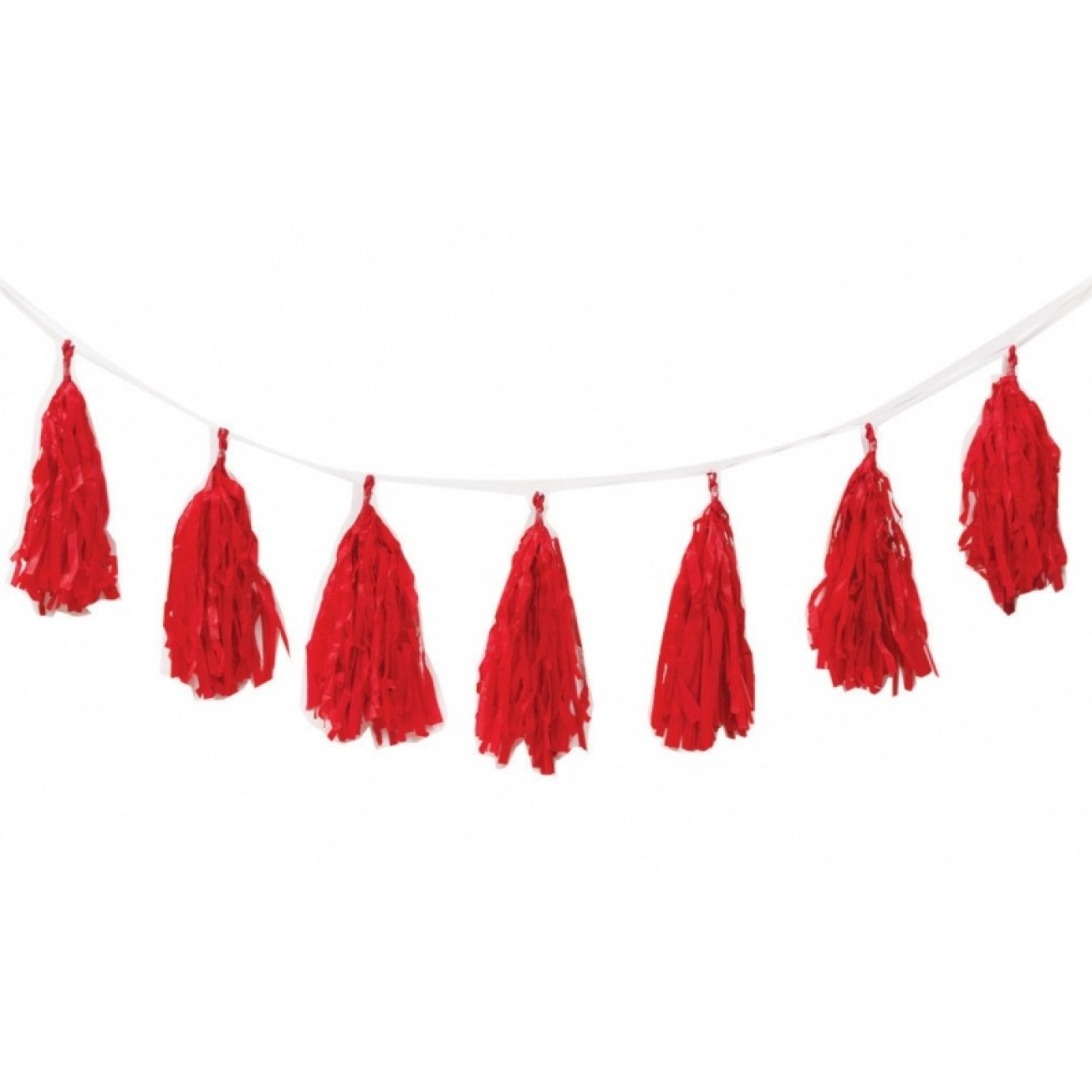 Garland Tassel Red Garlands Hanging Decorations Decorating Party Supplies The Party People Shop
