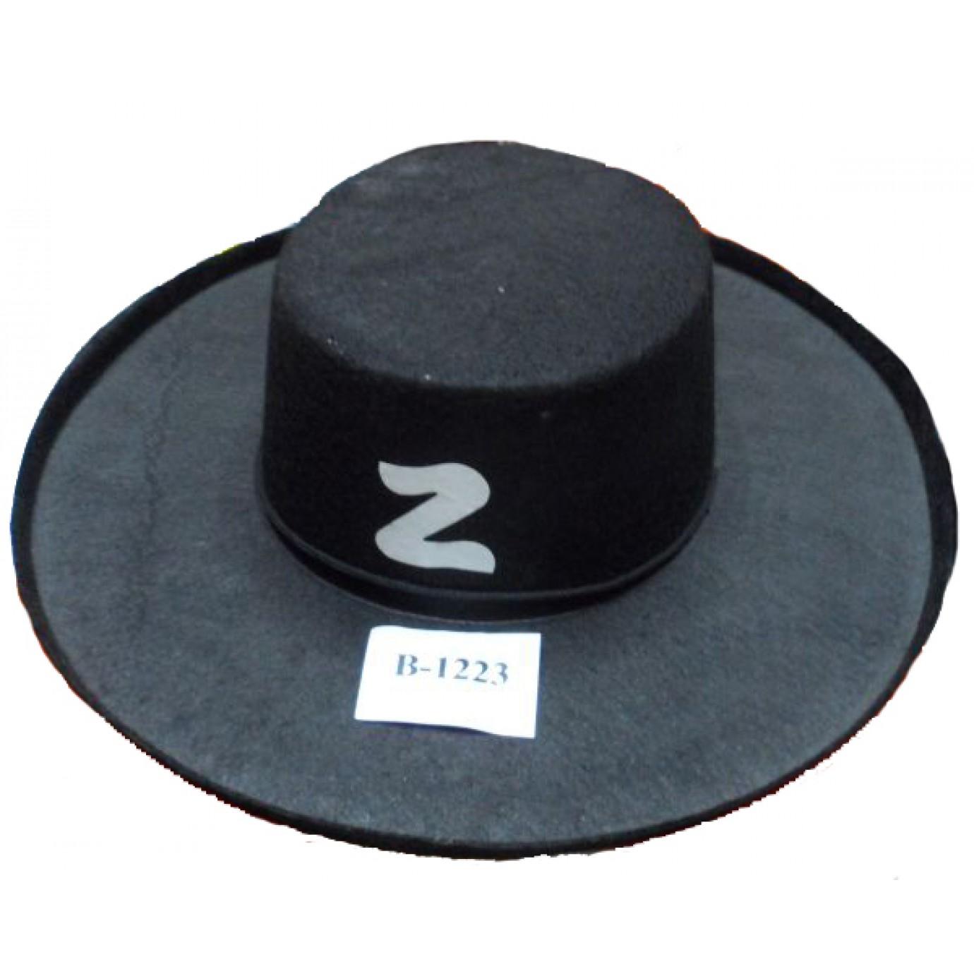 Hat - Zorro 97b0d037584