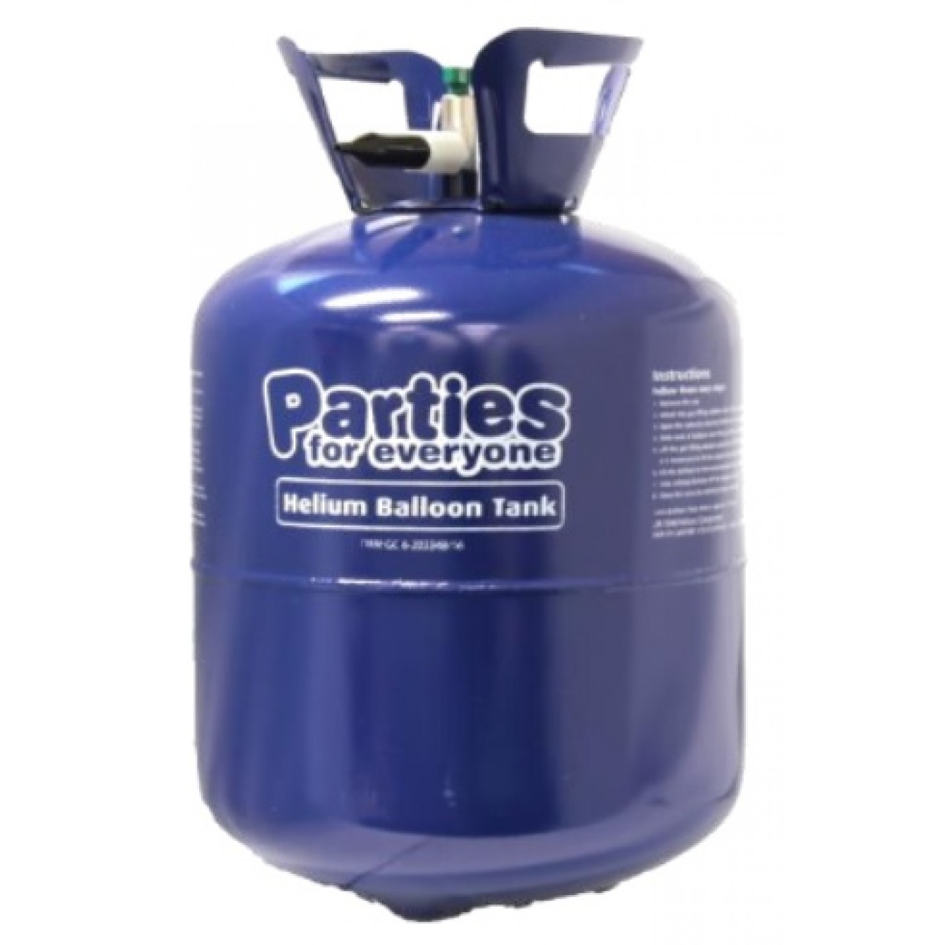 Helium Tank - Disposable, Standard | Helium Balloon Tanks ...