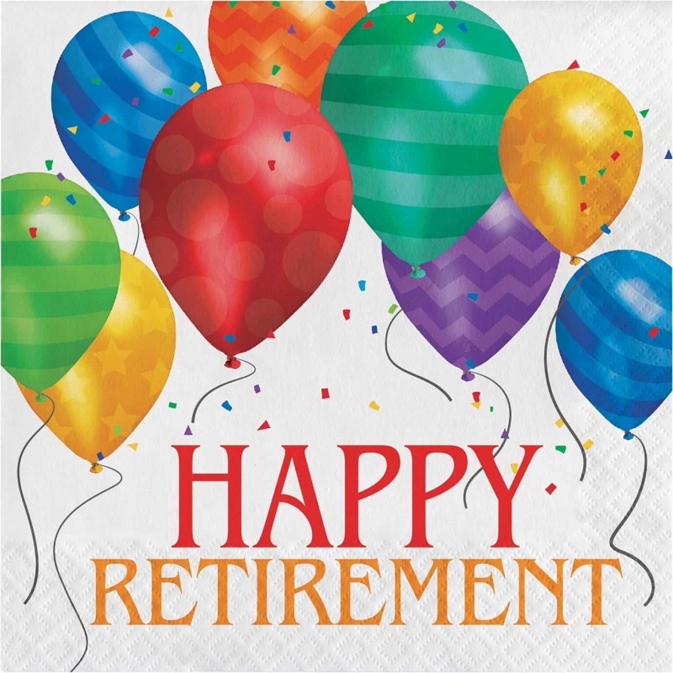 Luncheon, Happy Retirement Balloon Blast 16