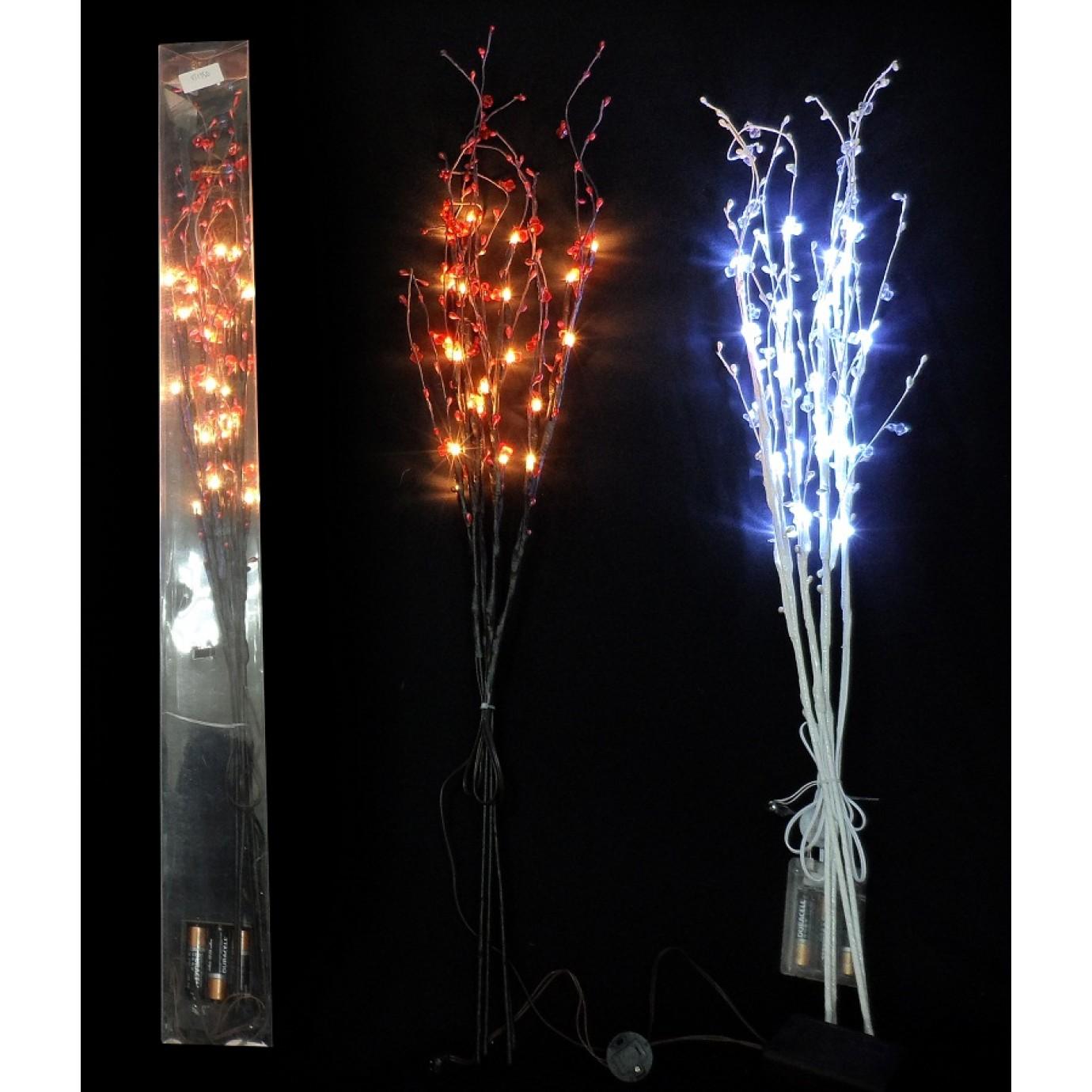 lights led jewelled stick lights assorted decorating. Black Bedroom Furniture Sets. Home Design Ideas
