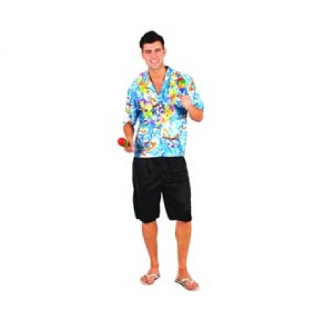 1619533f Adult Costume - Hawaiian Luau Man | Tropical | Fancy Dress Costumes | Party  Shop