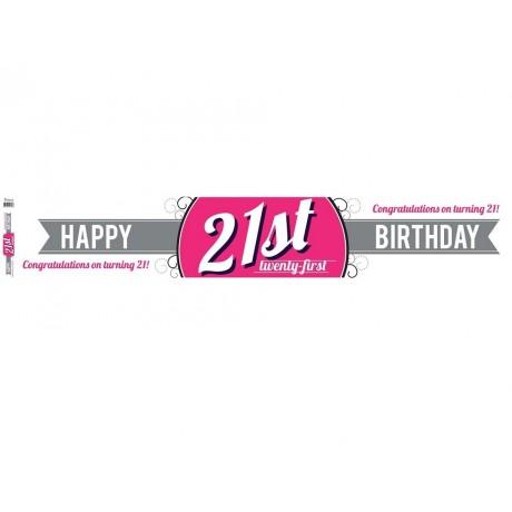 21st Birthday Facebook Banner
