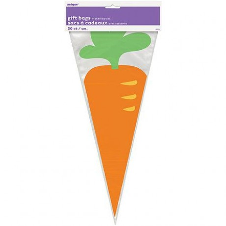 Lolly bags easter carrot 20 pk bags boxes catering lolly bags easter carrot 20 pk negle Image collections