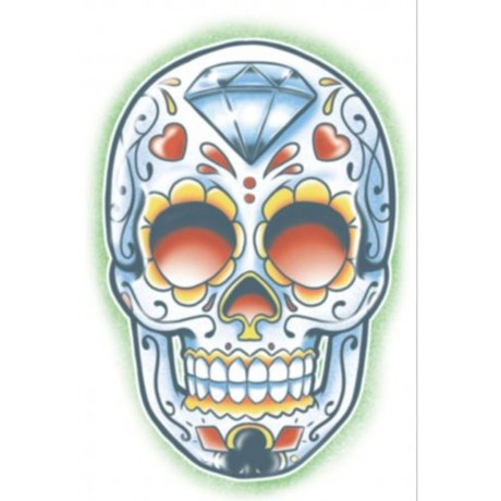 Tattoo day of the dead el jugador fancy dress for Tattoo party ideas