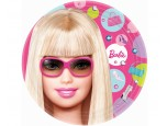 Dessert/Side Plates - Barbie All Doll'd Up 8 pk