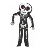 Child Costume - Big Head Skeleton