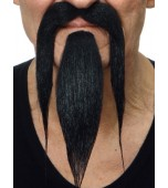 Moustache & Beard - Oriental, Black