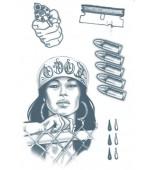 Tattoo - Prison, 18 & Life