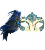 Mask - Burlesque, Blue
